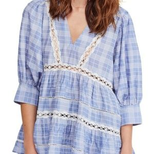 Free People Time Out Lace Tunic/B3